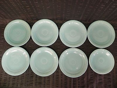 Fiestaware Homer Laughlin 7 Salad Plates 1 Bread Blue FIESTA USA