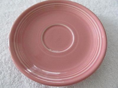 Fiestaware Fiesta HLC Retired Rose Pink 6