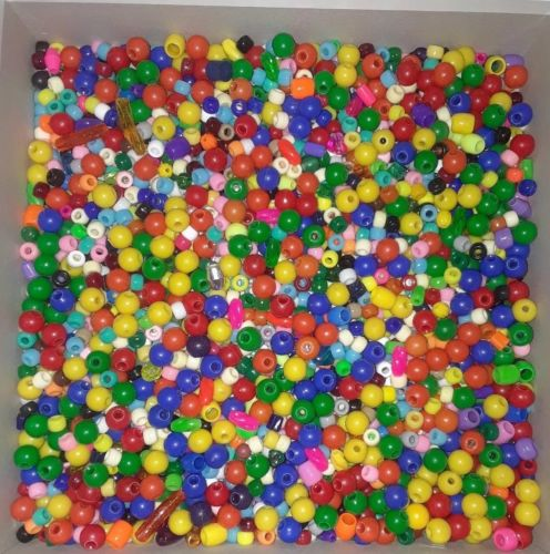 Loose Vintage Plastic Beads For Kids