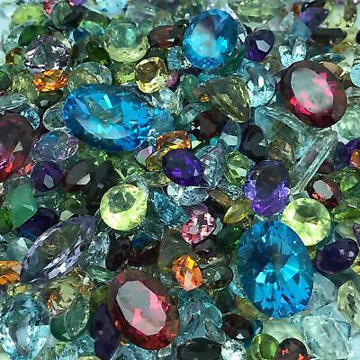 250 Carats Natural Loose Gemstones Wholesale Mixed Parcel Lot-Premium Quality!