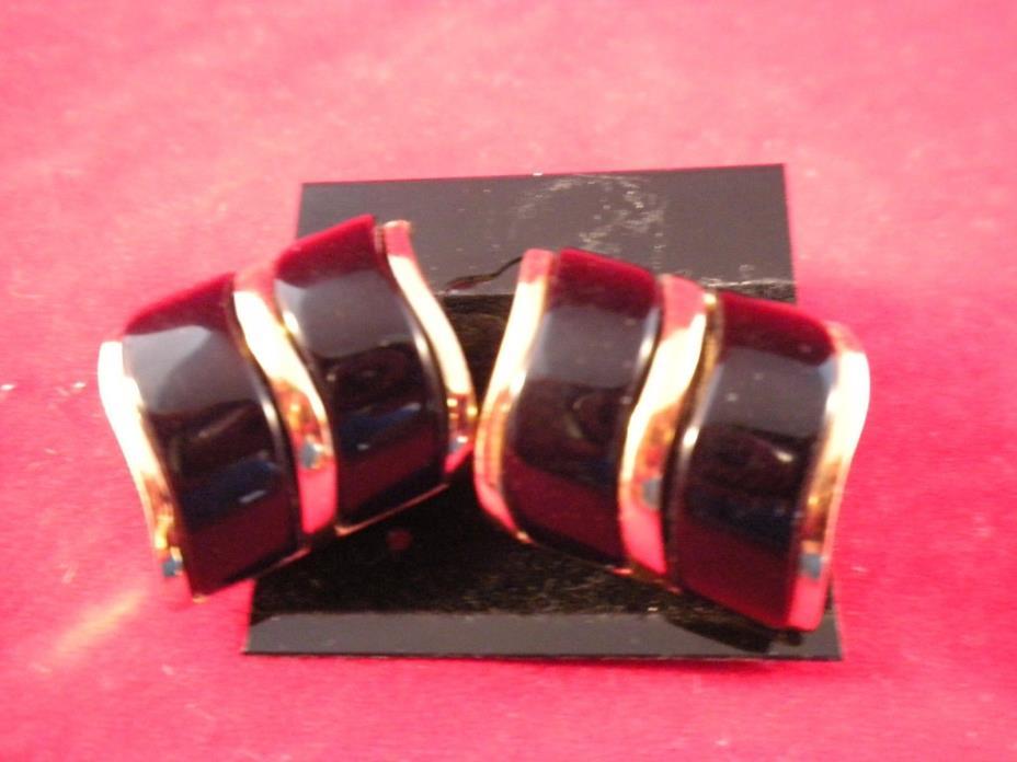 (2) Monet Bracelet's and (1) pair of Earrings