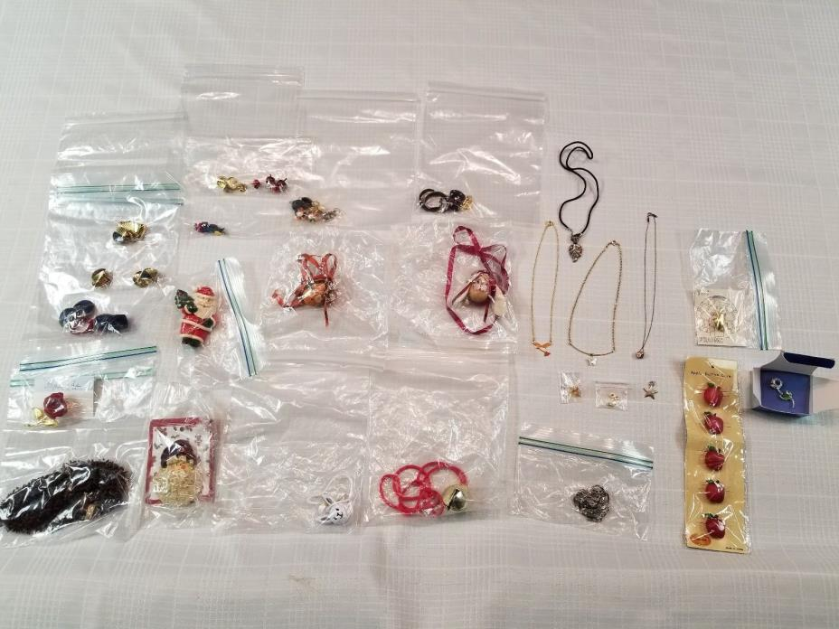 Assorted Jewelry - Good Kids Jewelry - Holiday Necklaces, Earrings, etc....