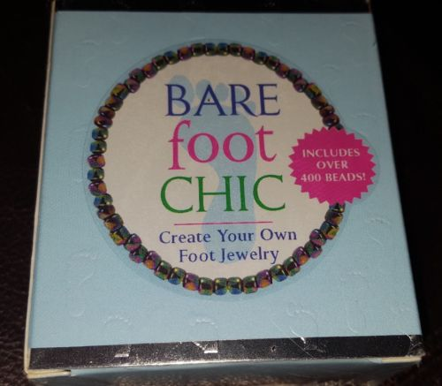 NIB Bare Foot Chic {Create Your own Foot Jewelry} Jewelry for your feet GIFT