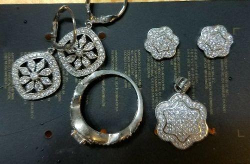 sterling silver jewlery lot