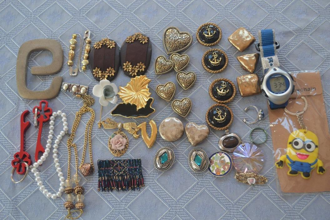 Lot 3- 39 Pieces Costume Jewelry