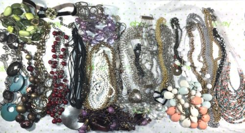 Bracelet Necklace Chain Fashion Junk Drawer Jewelry Repair Repurpose Craft Lot L