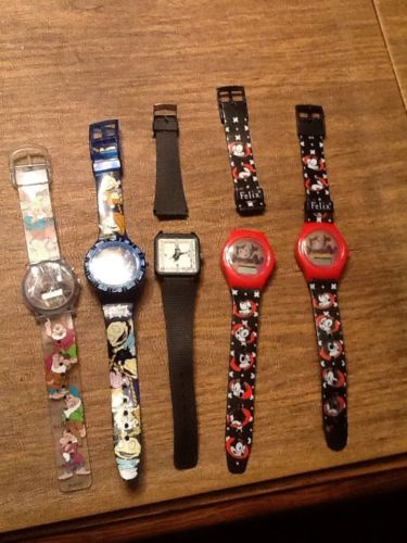 5  Kids/ Adult Watches Need Batteries