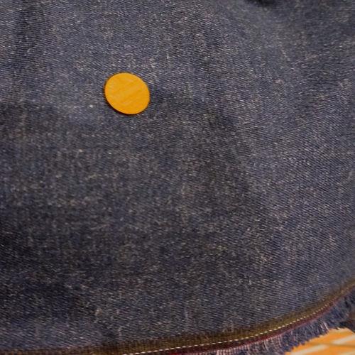 Vintage High End Cotton Lycra Stretch Denim Jean Fabric 46