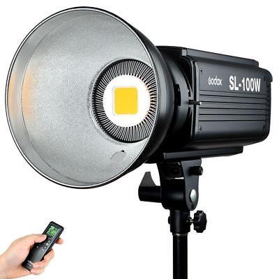 Godox SL Series SL100W 100W White LED Video Light, 5600K Color Temperature
