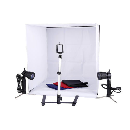 High Quality Photo Studio Light Folding Photo Box Set 4PCS Backdrop Mini Cube