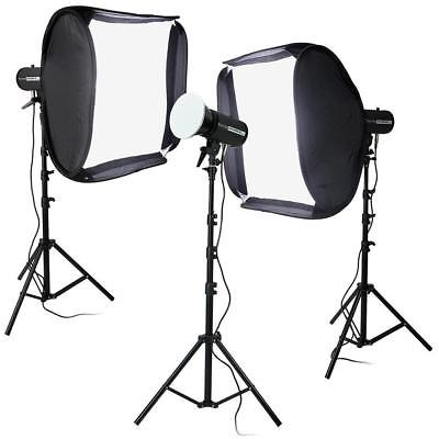 Fotodiox LED-100WB-56 High-Intensity Studio LED Kit #LED-100WB56-KIT3X