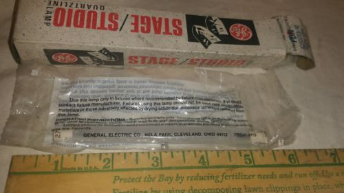 GE FDN 500W 120V HALOGEN LIGHT BULB MADE IN USA by GE