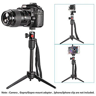 14 Inches/36 Tripods Centimeters Mini Travel Tabletop Camera With 360 Degree For