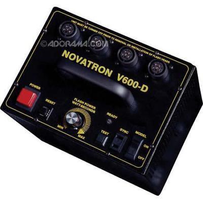 Novatron 600 w-s Variable Power Pack #V600D (Digital Camera Ready) #NV600D