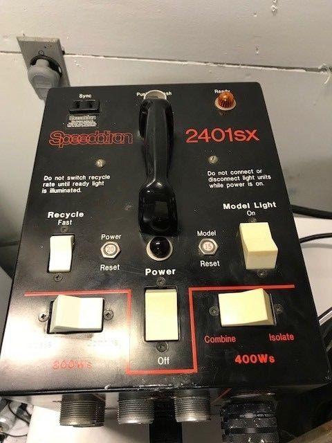 SPEEDOTRON 2401sx Camera/Photography Studio Lighting Power Pack