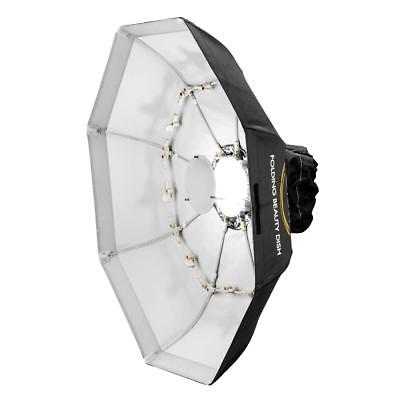 Glow Foldable Beauty Dish With Bowens Mount (White, 40