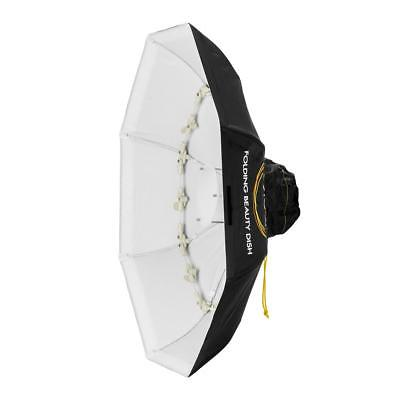 Glow Foldable Beauty Dish With Bowens Mount (White, 34
