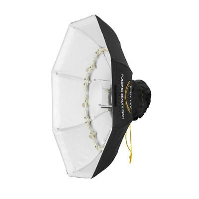 Glow Foldable Beauty Dish With Bowens Mount (White, 28