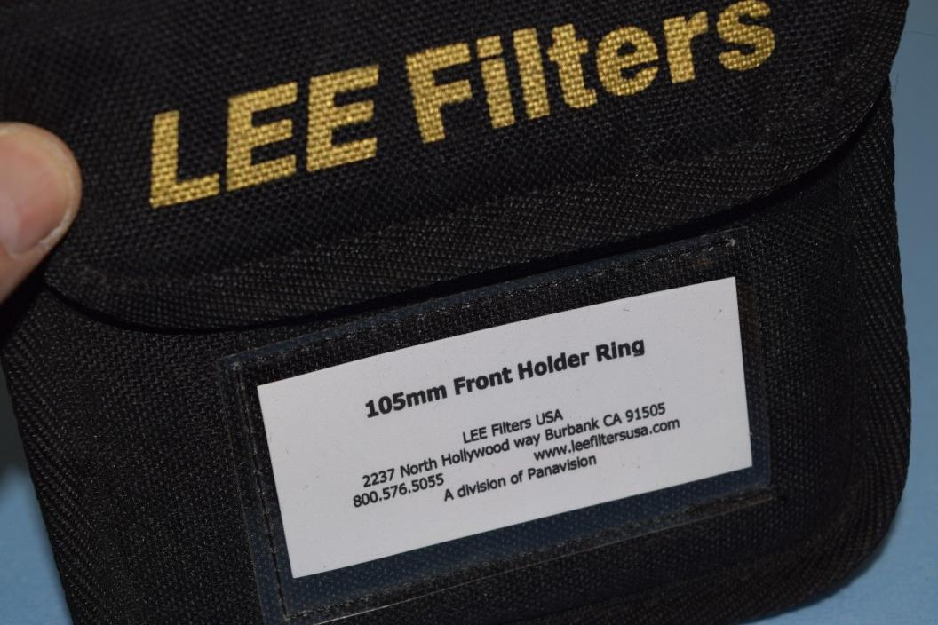 LEE Filters 105mm Adapter Ring for Foundation Kit.  Aluminum Threading.