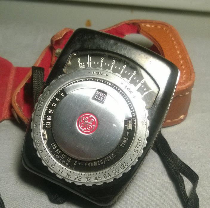 GE General Electric Type PR-1 Exposure Meter Light Meter For Film or Plates