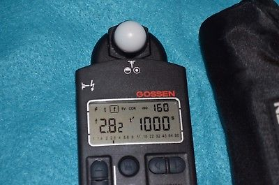 Gossen DigiPro F2 - Flash and Ambient Light Meter With Carry Case