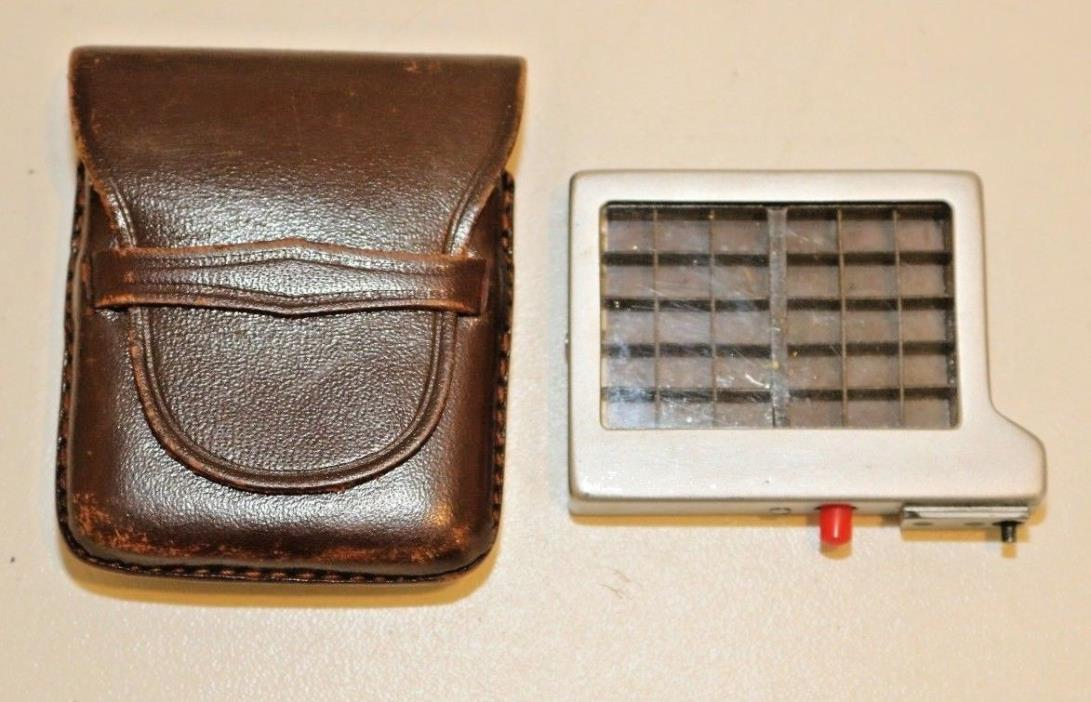 VINTAGE LEICA M OR METRAPHOT LIGHT EXPOSURE METER BOOSTER W/ CASE