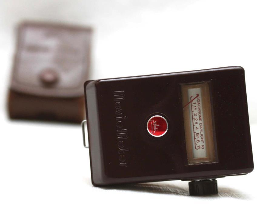 Walz Preset M-1 Movie Light Meter + Original Case Fully Operational