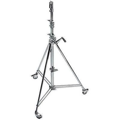 Avenger 12.8ft Wind Up 39 Cine Stand, Chrome Steel #B6039CS