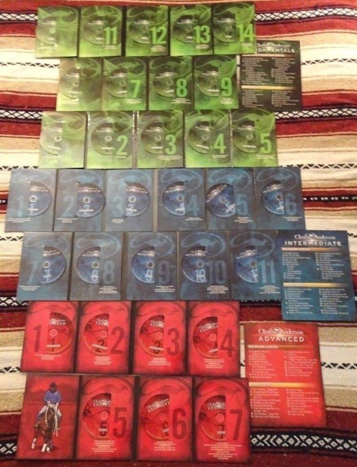 Clinton Anderson Fundamentals, Intermediate and Advanced Series 32 DVD set