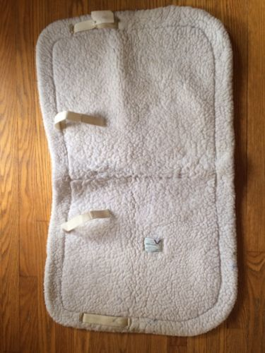 English Fleece Saddle Pad