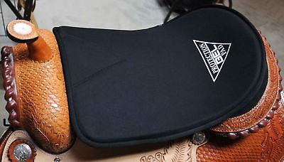 Horse English Western Cover Thick Gel Neoprene under Saddle Pad 122F28