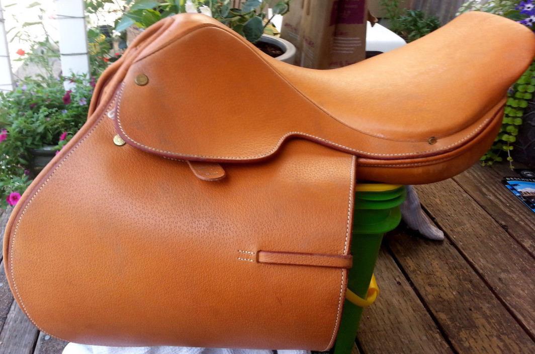 Crosby Hunterdon Springseat Equitation Saddle Hunter Jumper Size 15 1/2