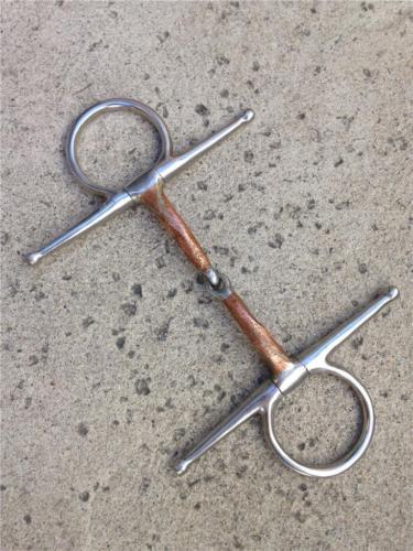 Full Cheek Stainless Steel Snaffle Bit - 5