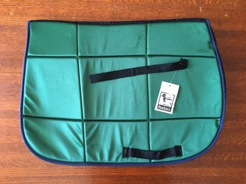 Casel-Equi Square Saddle Pad - Green Bucktex