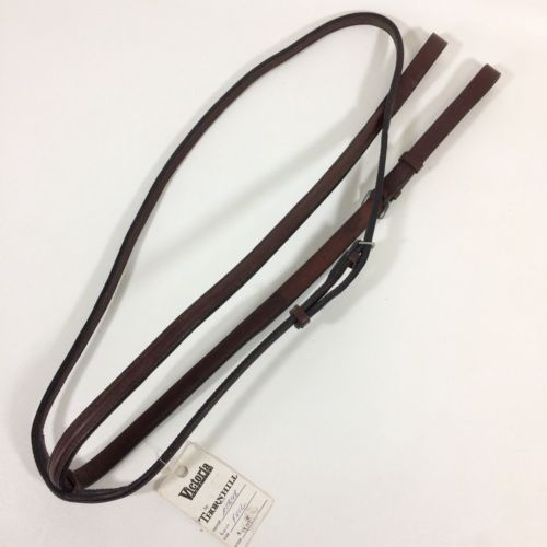 Thornhill English Standing Martingale Brown Raised Leather Horse Size