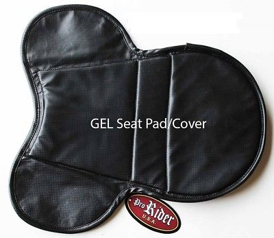 Horse Trail ENGLISH SADDLE Seat GEL PAD Cover Neoprene WITHER  122F12