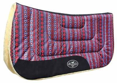 Professional's Choice Comfort-Fit Saddle Pad with Fleece Bottom 31