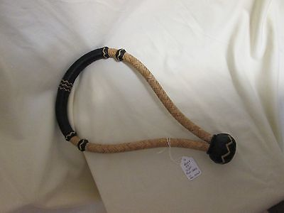 Bosal --  Rawhide with Black  with Rawhide Detail   - 5/8
