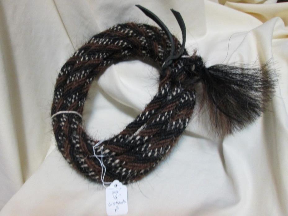 Mane Horse Hair Mecate 22 feet 1/2