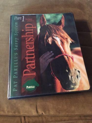 Parelli Horsemanship Training Part 1 Partnership VHS Cassette Horse Out Of Print