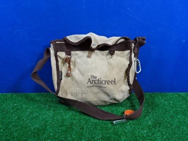 Vintage ArctiCreel Canvas Fishing Bag