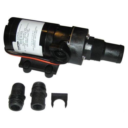 Raritan Macerator Pump  24VDC wBarb Adapter {-}-