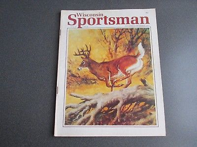 Vintage Wisconsin Sportsman Magazine November/December 1977 Good Condition