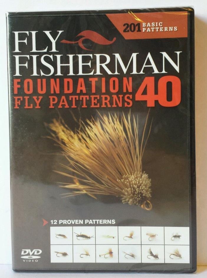 Fly-Fisherman Foundation 40 Fly Patterns DVD 201 Basic 12 Proven Patterns Video