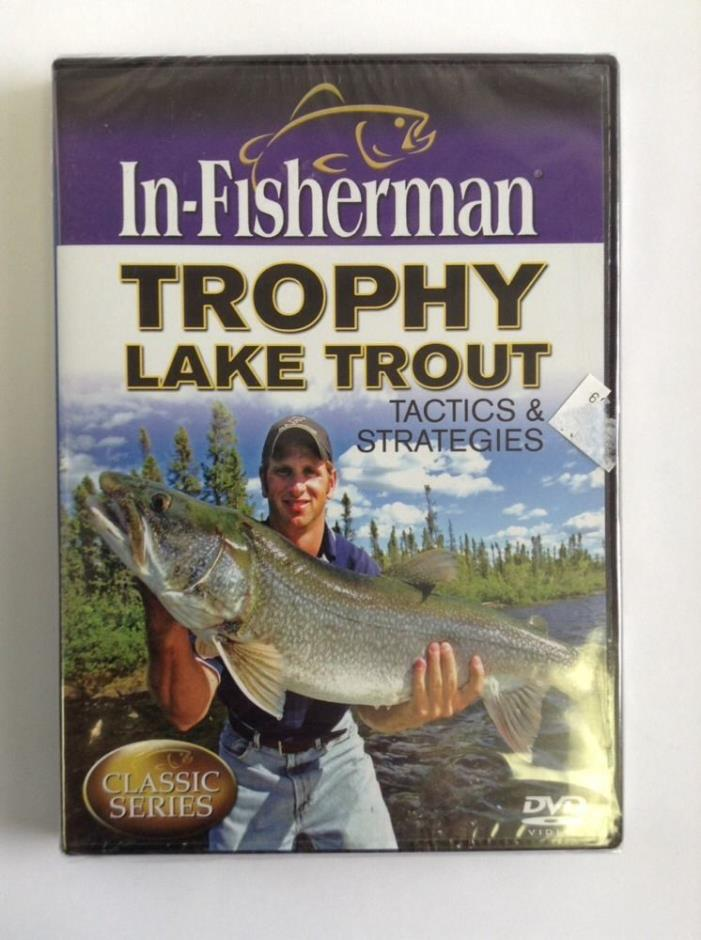 In-Fisherman Trophy Lake Trout Tactics & Strategies DVD (Brand New Sealed)