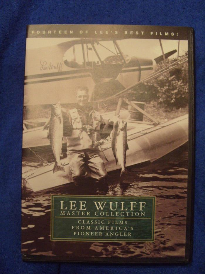 Lee Wulff Master Collection - Pioneer Angler by Lee Wulff - 5 Hour DVD