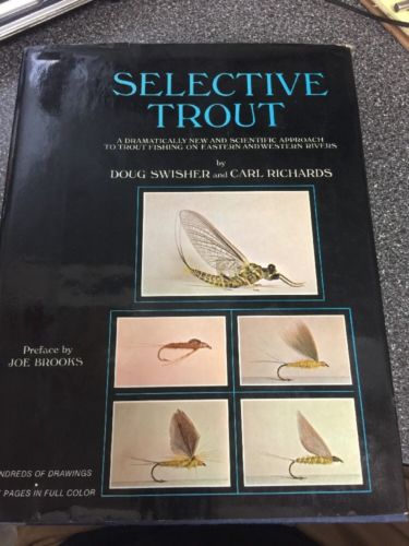 Selective Trout 1971 by Doug Swisher and Carl Richards. Signed by Doug Swisher