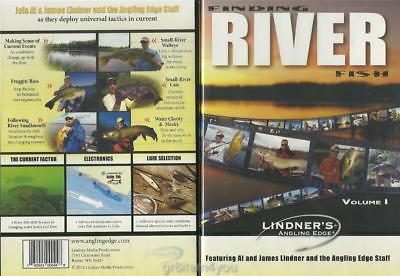 Lindner Fishing Finding River Fish Bass Walleye Musky Catfish DVD NEW