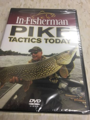 IN-FISHERMAN PIKE TACTICS TODAY DVD NEW & SEALED TIPS STRATEGY FROM PROS FISHING