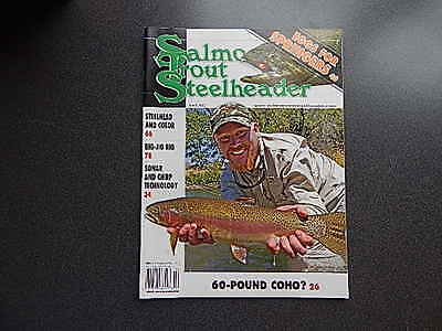 Salmon Trout Steelheader Magazine April 2012 VG Condition